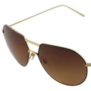 Loree Rodkin Ashton Titanium Sunglasses
